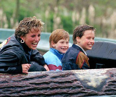 Księżna Diana dbała o to, by jej synowie mieli beztroskie dzieciństwo