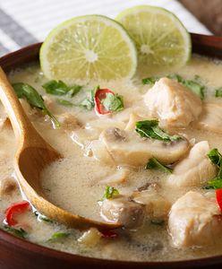 Zupa Tom Kha Gai - tajski wymiar smaku