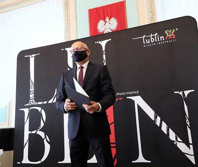 Koronawirus. Krzysztof Żuk, prezydent Lublina, jest zakażony