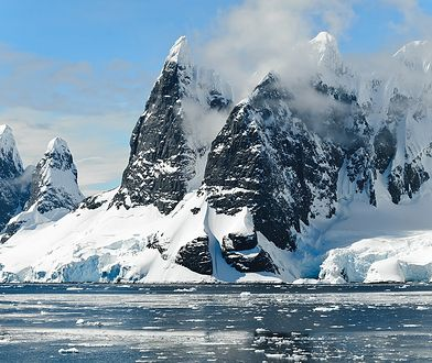 Lodowce na Antarktydzie topnieją