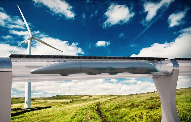 Rewolucyjna kolej przyszłości - to działa! Ale przed Hyperloop jeszcze długa droga
