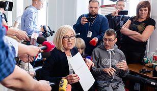 Joanna Kopcińska liczy na owocne negocjacje z protestującymi