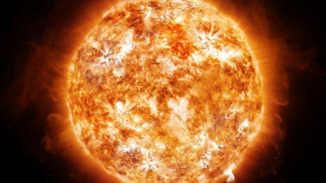 Burza słoneczna nie stanowi zagrożenia. Słońce wykazuje bardzo niski poziom aktywności