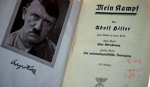 """""""Mein Kampf"""" Adolfa Hitlera po polsku. Cena ma być zaporowa"""