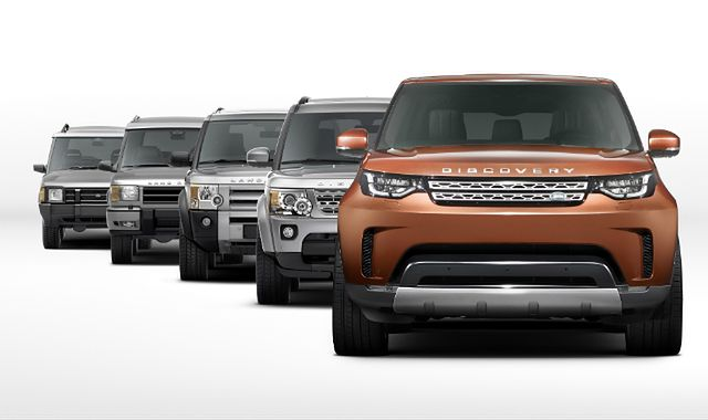 Nowy Land Rover Discovery w wersji siedmioosobowej