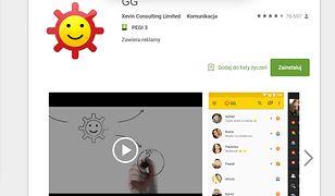 Skorzystałem z aplikacji mobilnej Gadu-Gadu. Nie sądziłem, że dalej korzystają z niej miliony użytkowników