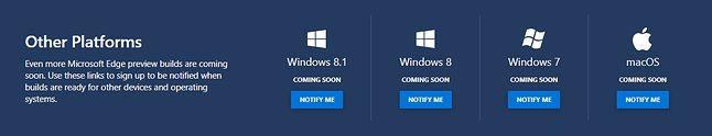 Nowy Edge będzie także dostępny dla innych systemów.