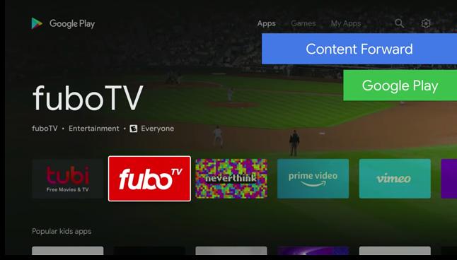 Odświeżony Sklep w Androidzie TV, źródło: Google, Android Police.