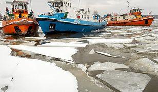 Pogoda. Wody Polskie: lodołamacze ruszają do akcji na Wiśle