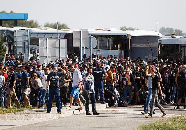 Austria nie była w stanie powstrzymać imigrantów