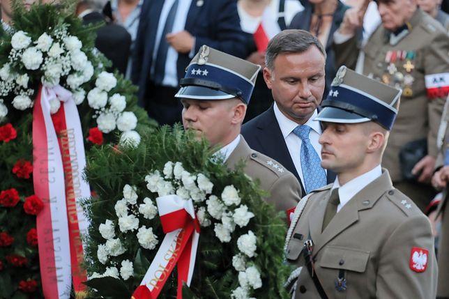 Powstanie Warszawskie. Prezydent Andrzej Duda na Woli