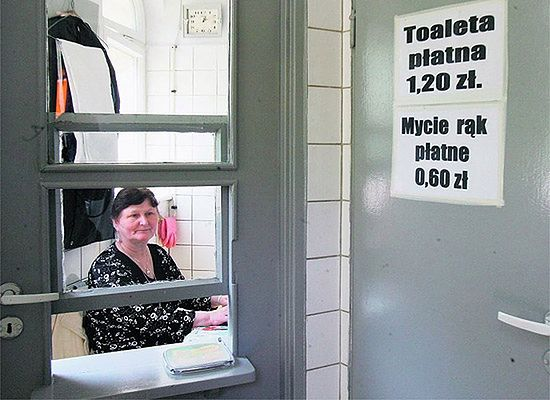 Chcesz umyć ręce po toalecie? Musisz zapłacić