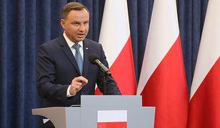 Rośnie poparcie dla prezydenta Andrzeja Dudy