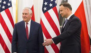 Dyplomata: Duda powinien rozmawiać z Tillersonem. To wielki błąd