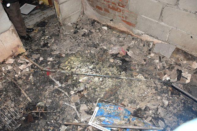 Śledztwo w sprawie śmierci 2-latka. Chcąc zatrzeć ślady matka wznieciła pożar?