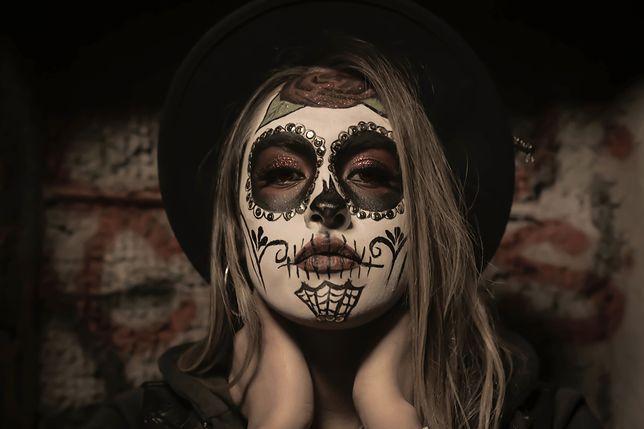 Makijaże na Halloween, jak dzieła sztuki