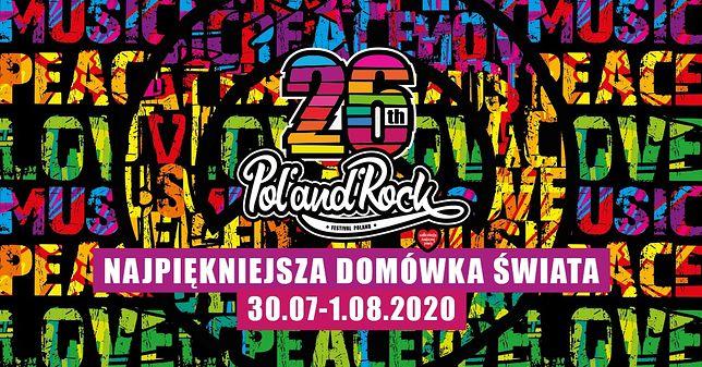 W internecie trwa Najpiękniejsza Domówka Świata. Sprawdź line-up Pol'and'Rock Festival 2020