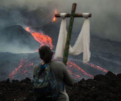 Ameryka. Wybuch wulkanu w Gwatemali