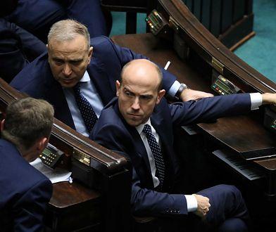 Ustawa dyscyplinująca w Sejmie. Interwencja Straży Marszałkowskiej na galerii sejmowej