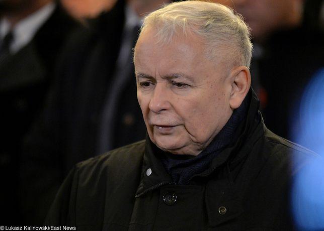 Jarosław Kaczyński w Krakowie, 11 listopada 2017 r.