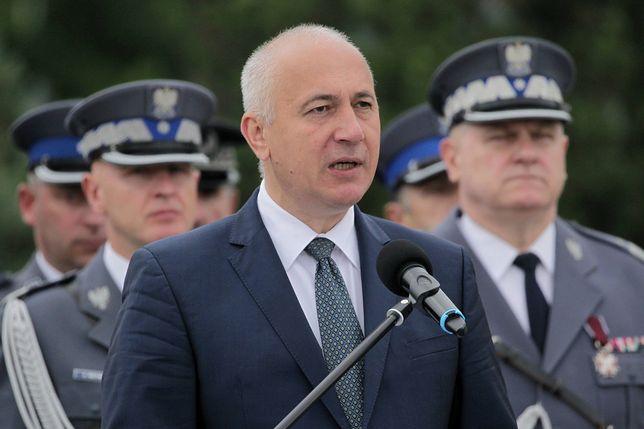 Joachim Brudziński jest zadowolony z reakcji policjantów