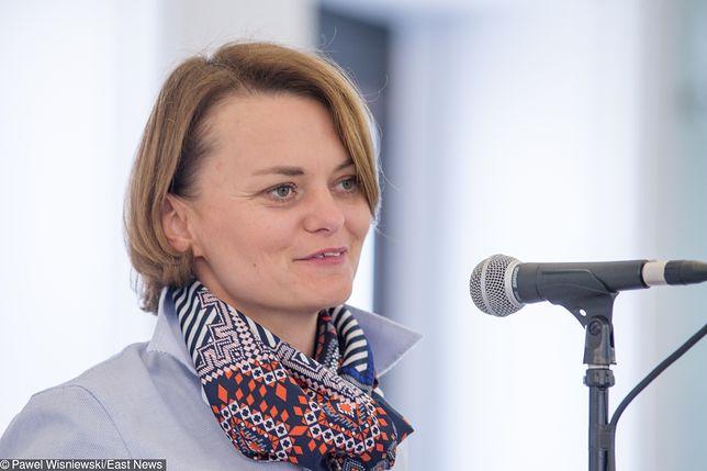 Jadwiga Emilewicz, minister przedsiębiorczości i technologii nie ma oszczędności
