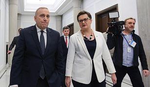 Katarzyna Lubnauer u boku Grzegorza Schetyny. Czy już niedługo znajdą się w jednej partii?