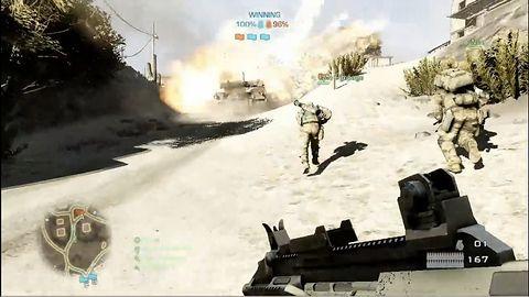 Rozgrywka: Multiplayer w Battlefield: Bad Company 2