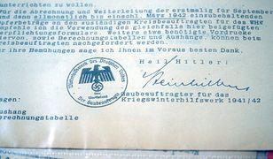 Warszawa. Chciał sprzedać w internecie dokumenty z II wojny światowej