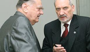 Antoni Macierewicz był bliskim współpracownikiem Jana Olszewskiego