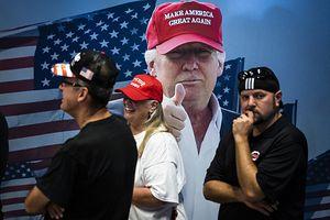 Wiec wyborczy Donalda Trumpa w stanie Ohio