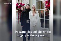 Niedawno zostały żonami. Wspólny element na ślubach Zosi Ślotały i Joanny Przetakiewicz