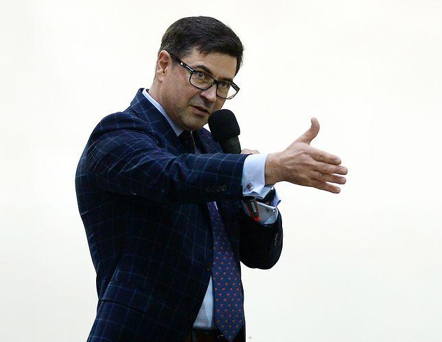 Prezes stadniny koni w Michałowie Maciej Grzechnik