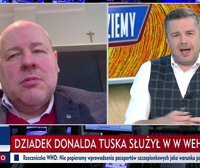 """W TVP Info wspomniano o dziadku Tuska. """"Paskowy"""" zareagował błyskawicznie"""