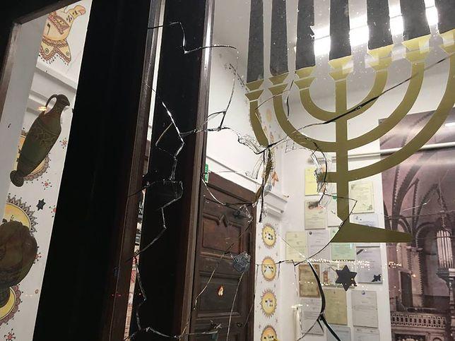 Atak na synagogę w Gdańsku. Policja zatrzymała 27-latka