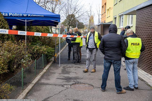 Do zdarzenia doszło w czwartek na jednym z osiedli mieszkaniowych w Koninie