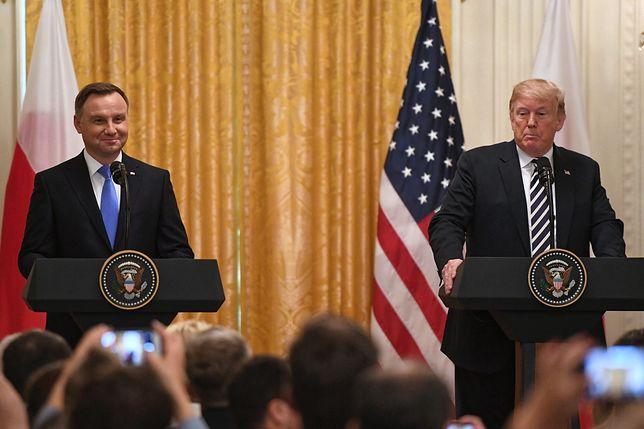 Spotkanie Duda-Trump w Waszyngtonie