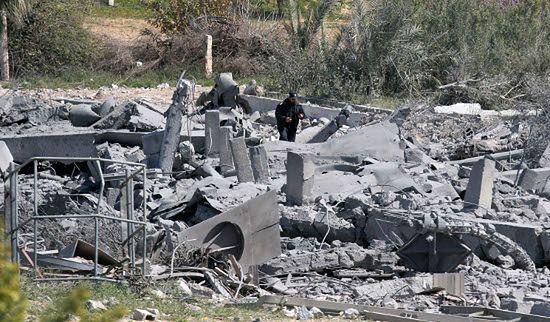 Izraelskie samoloty zbombardowały Strefę Gazy