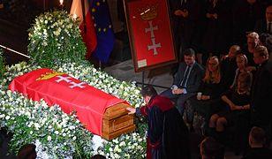 Pożegnanie Pawła Adamowicza. Wiec na Ołowiance