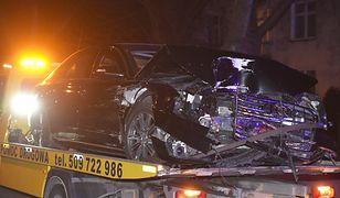 Wypadek premier Szydło. BOR potwierdziło: limuzyna nie miała ubezpieczenia AC