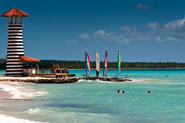Wyspa Saona - najczęściej odwiedzana wyspa w kraju