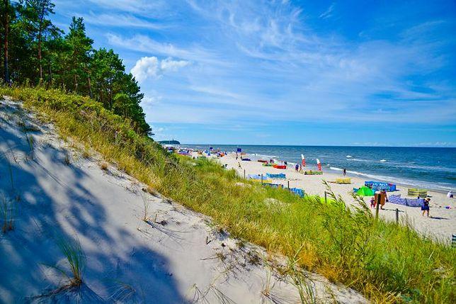 Najmniej zatłoczone plaże w Polsce