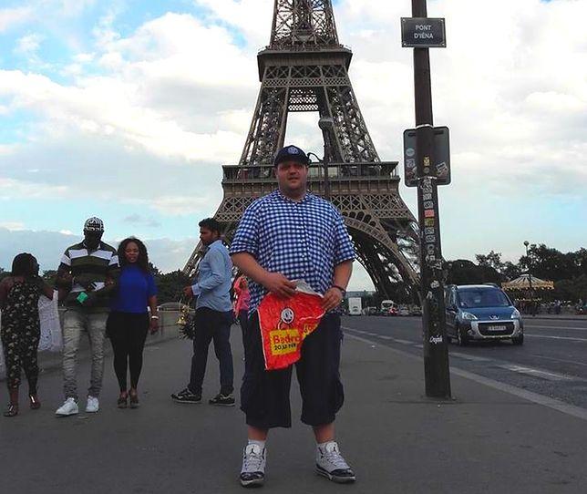 Biedronka on Tour - gdynianin zwiedza świat z reklamówką