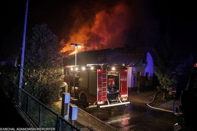 Pożar wybuchł w nocy, gdy dzieci spały