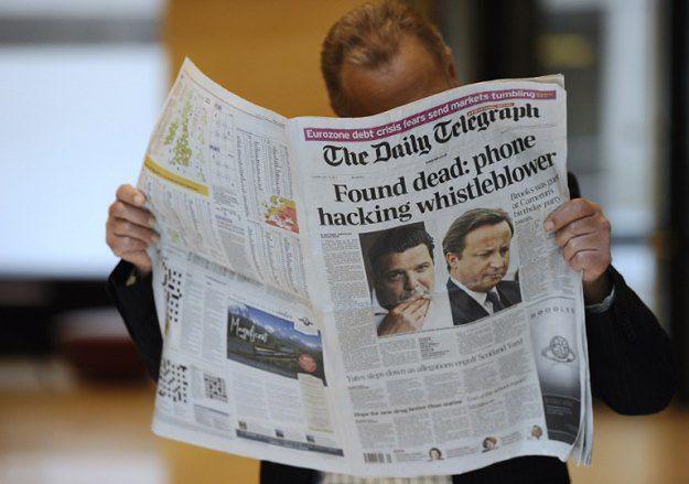 "Skandal w brytyjskim ""Daily Telegraph"""