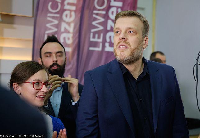Lider Lewicy Razem Adrian Zandberg (zdj. arch.)