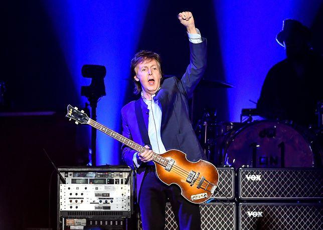 Sir Paul McCartney: frywolny na scenie i poza nią