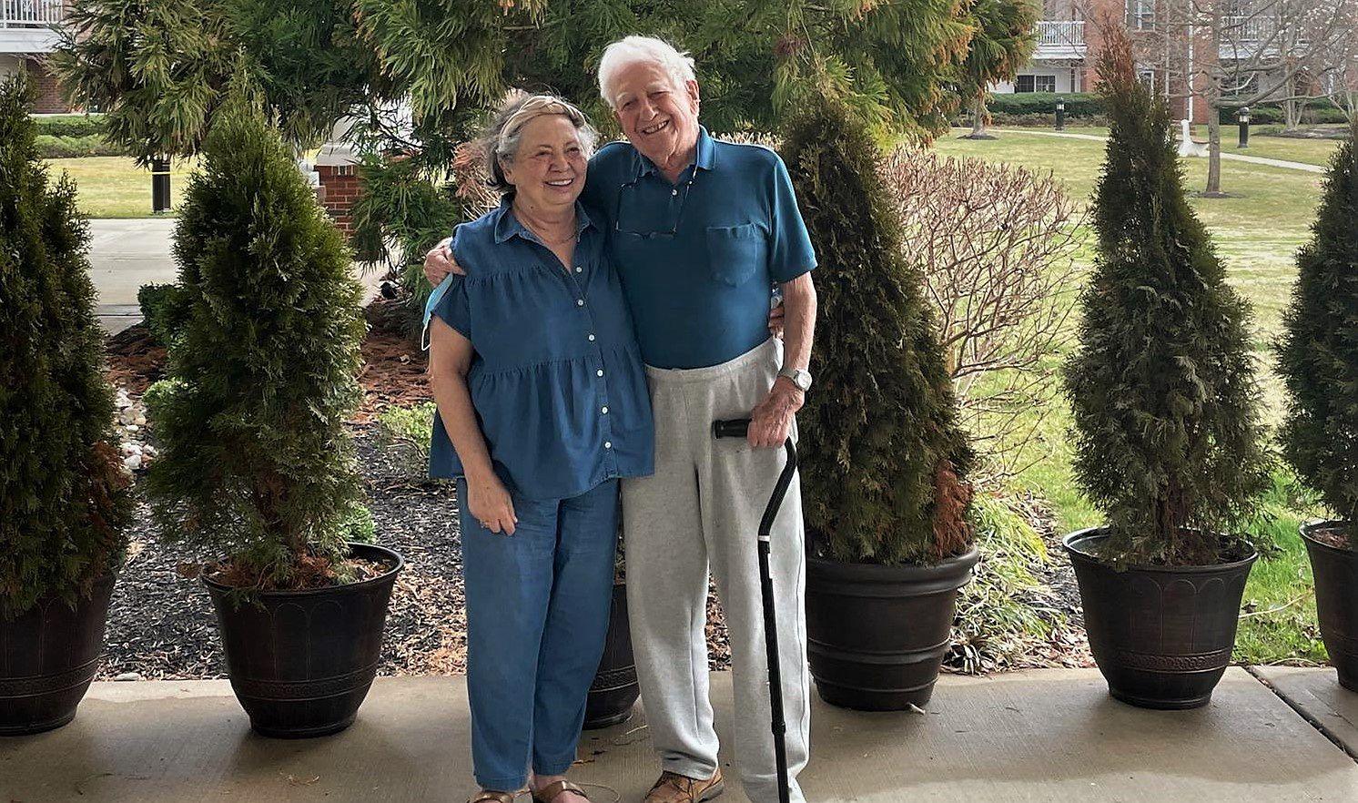 Iris i Bill w Applewood