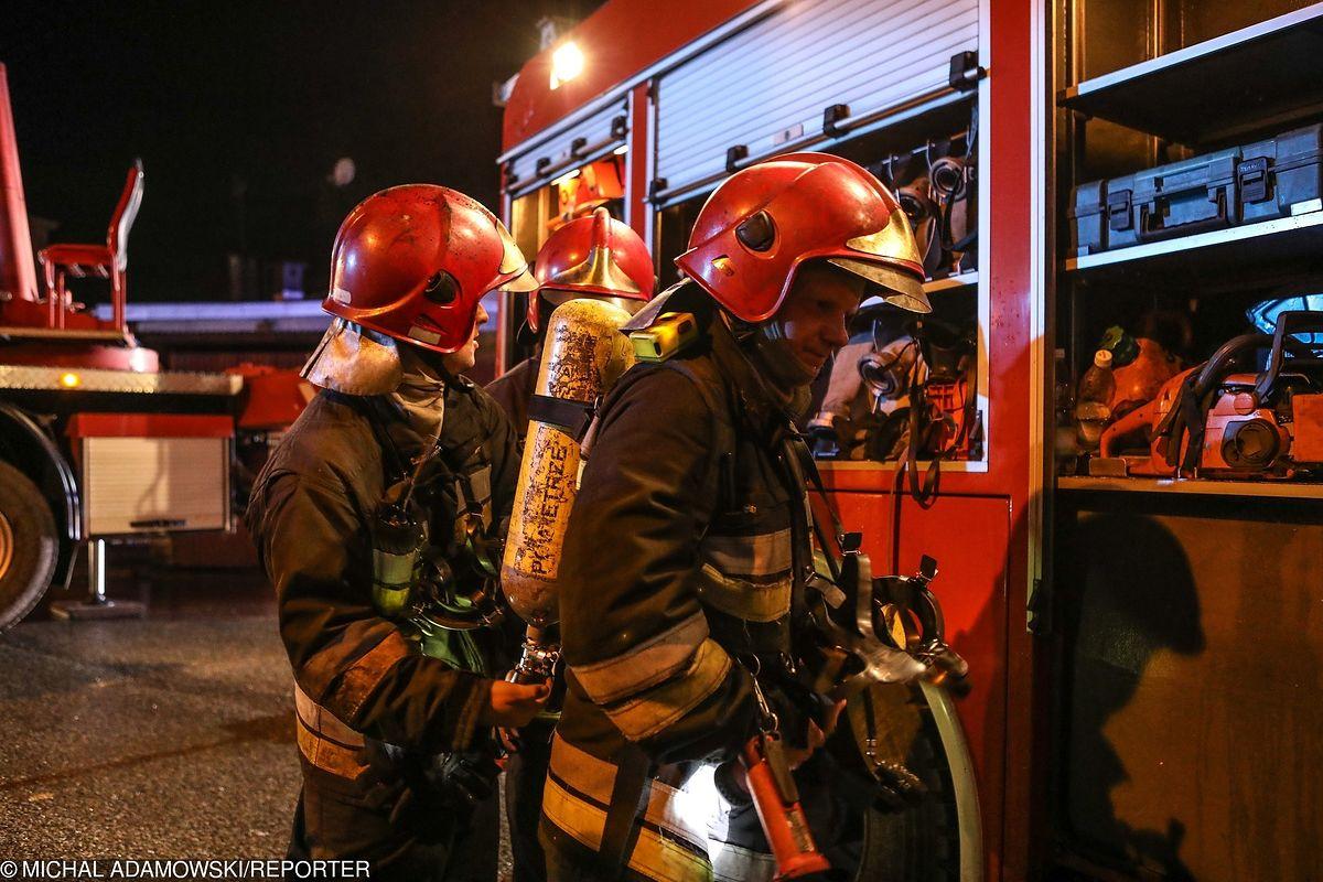 Pożar w budynku Politechniki Warszawskiej. 300 osób ewakuowanych