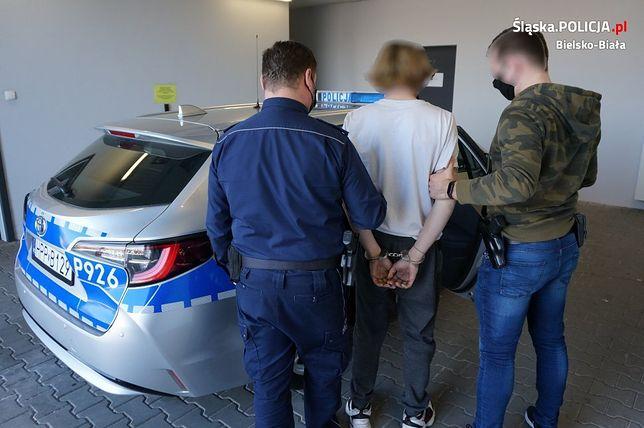 Bielsko-Biała. 19-latek błyskawicznie został złapany.